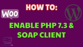 how to enable php 7 3 and soap c
