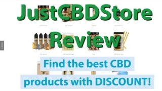 Just CBD Store Review | The best CBD products with LAB REPORTS