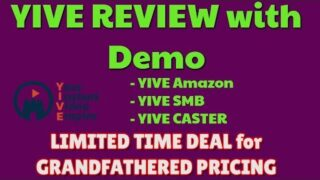 YIVE Review & Demo | LIMITED DEAL PRICING | YIVE Amazon | YIVE Caster | YIVE SMB