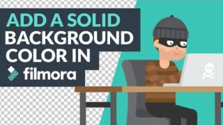 How to Add a Solid Background Color in Filmora [Beginner Tutorial]