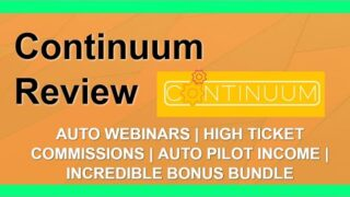 Continuum Review | 🖥️ EverWebiner Alternative 🖥️ | DFY High Ticket Commissions