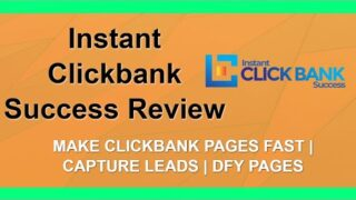 Instant Clickbank Success Review | DFY Clickbank | Bonuses