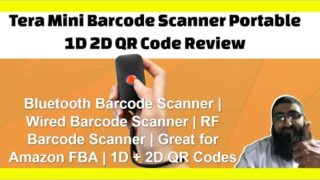 Tera Mini Barcode Scanner Portable 1D 2D QR Code Review | Bluetooth Barcode Scanner