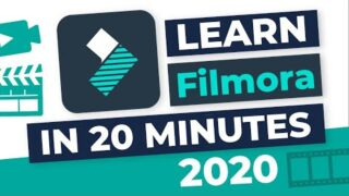 Filmora 2020: Full Tutorial for Beginners in ONLY 20 Minutes