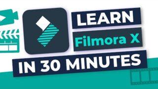 🎬 Filmora X: COMPLETE Tutorial for Beginners!
