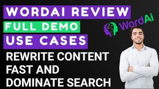 WordAI Review & Demo | Fast Content Creation and Rewriting with AI